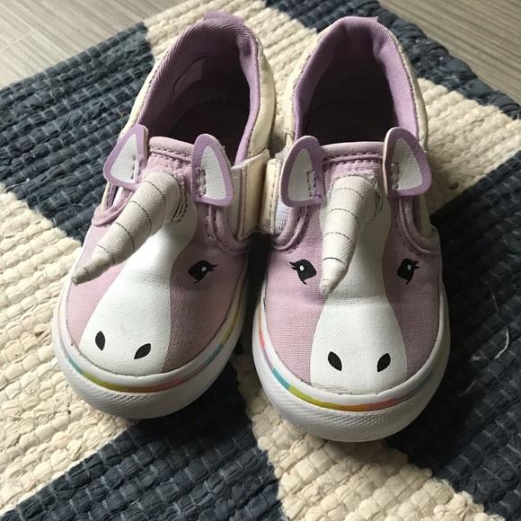 Vans Shoes   Unicorn Purple Toddlers